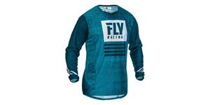 dres KINETIC MESH 2019.5, FLY RACING - USA (modrá)