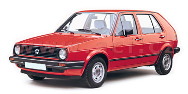 VW GOLF II   8/1983-7/1992