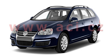 VW GOLF V Variant 06/2007-4/2009